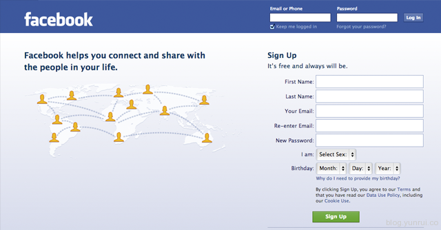 03-facebook-homepage-Flat-Design-Aesthetic-Skeumorphism-style-interface-discussion-which-better