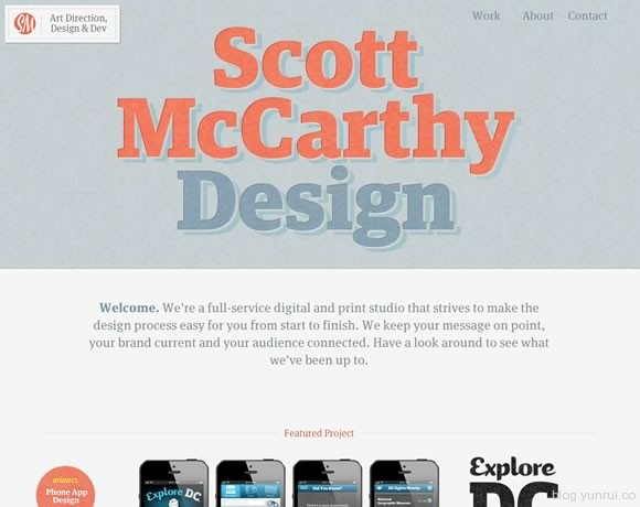 19 Beautiful Examples of Texture in Web Design