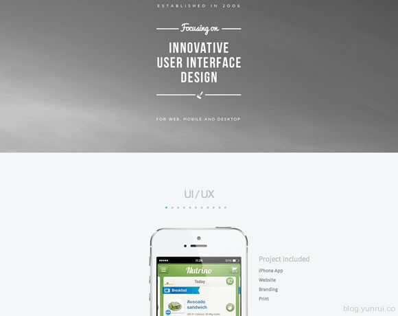 13 Inspiring Examples of Whitespace in Web Design