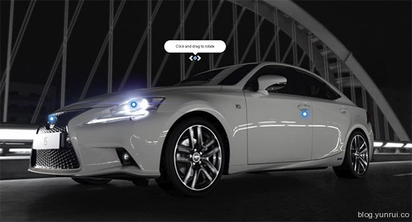 The All-New Lexus IS in 25 Creative Automotive Websites