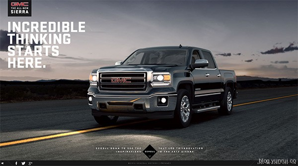Incredible Thinking in 25 Creative Automotive Websites