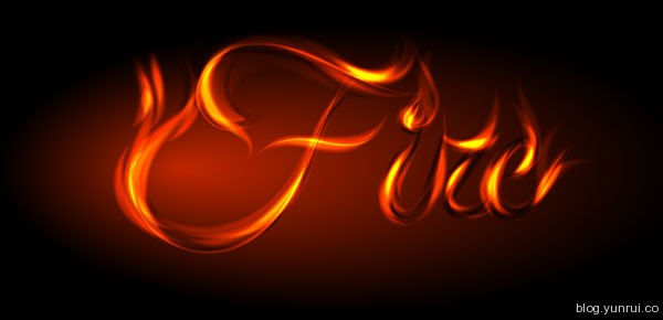 How to Fire Up Your Designs Using This Awesome Vector Fire Text Effect in Web Design Inspirational Cocktail #5