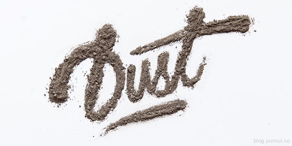 How to Create Custom Dirt Typography in Web Design Inspirational Cocktail #5