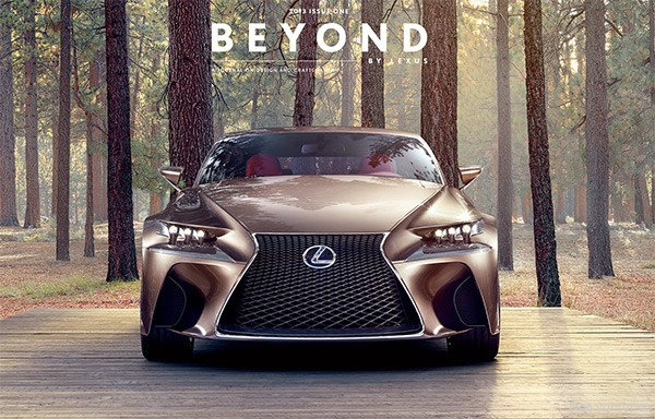 Lexus International in 25 Creative Automotive Websites