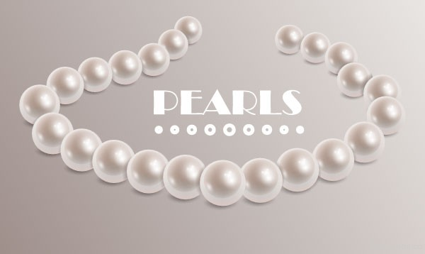 How to Create a Pearl Brush from Gradient Meshes in Adobe Illustrator in Web Design Inspirational Cocktail #5