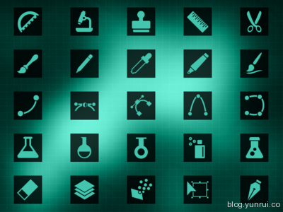 25 Icons Artwork by Brice Seraphin in 40 New Icon Sets for March 2014
