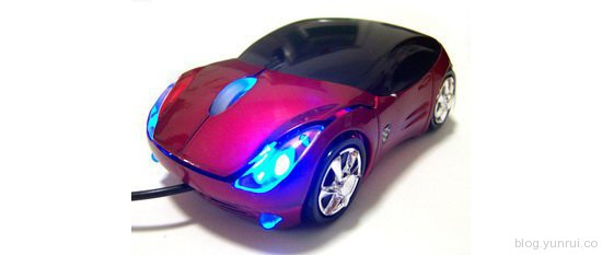 Sport Car Ferrari Optical Mouse