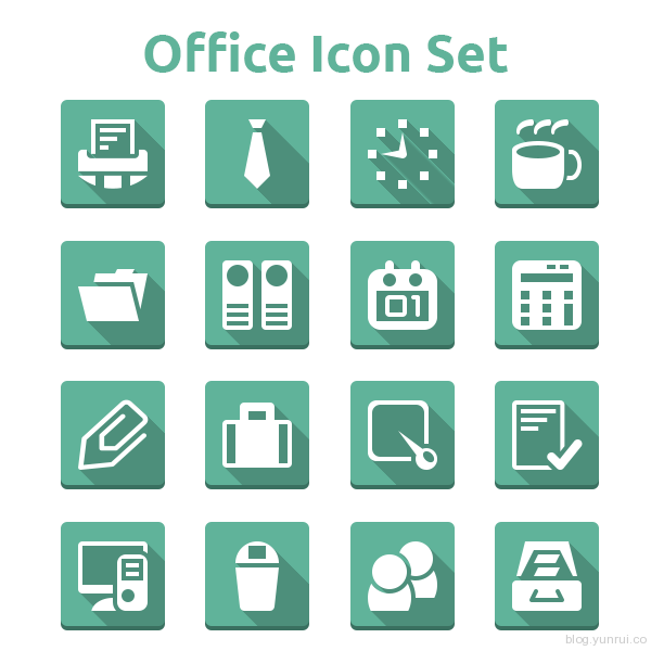 Office icon Set by Simple Icon in 40 New Icon Sets for March 2014