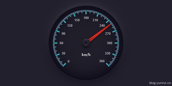 Create a Simple Speedometer Illustration in Adobe Illustrator in Web Design Inspirational Cocktail #5