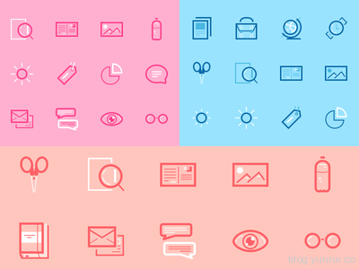 Mini Set Icons by Michela Tannoia in 47 Fresh and Flat Icon Sets for April 2014