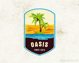 Oasis by thesniperz09 in 50 Logos for Inspiration