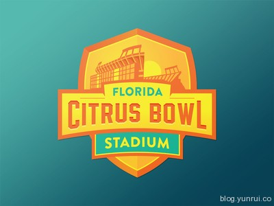 Florida Citrus Sports Logo by Lee Waters in 50 Logos for Inspiration