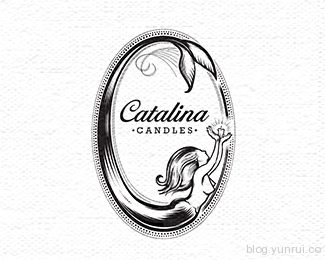 Catalina Candles by Milovanovic in 50 Logos for Inspiration