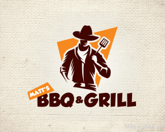 Bbq and Grill by Dax8989 in 50 Logos for Inspiration