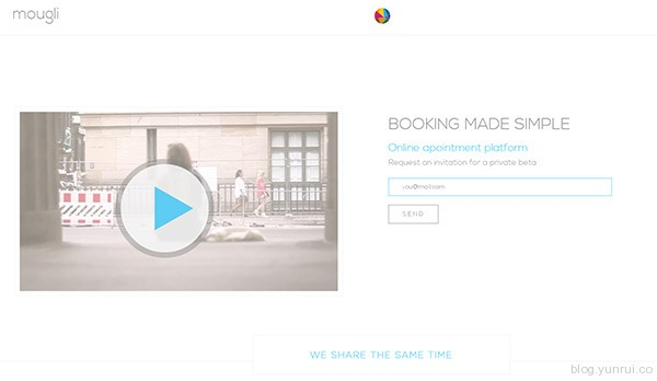 Mougli in 35 Inspiring Examples of White Space in Web Design