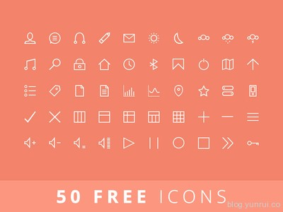 50 Ffree Icons by Balraj Chana in 47 Fresh and Flat Icon Sets for April 2014