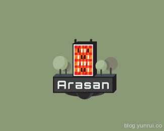 arasan by woelve in 50 Logos for Inspiration