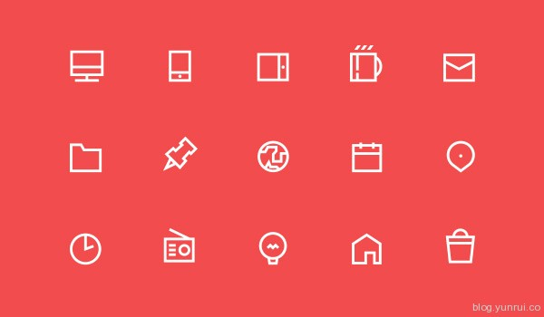 55 free icons by Jacek Janiczak in 47 Fresh and Flat Icon Sets for April 2014