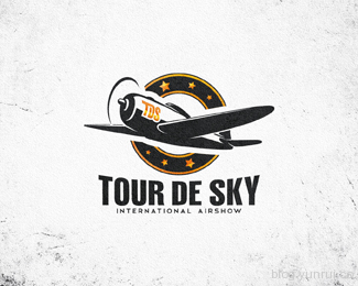Tour De Sky by Dalibass in 50 Logos for Inspiration