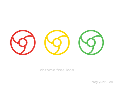 Chrome Free Icon by Sofia Moya in 47 Fresh and Flat Icon Sets for April 2014