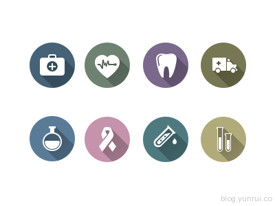 Medical Icon Pack by Iris in 47 Fresh and Flat Icon Sets for April 2014