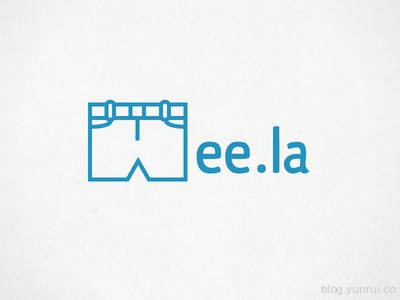 Mee.la - URL Shortener by Derek Fidler in 50 Logos for Inspiration