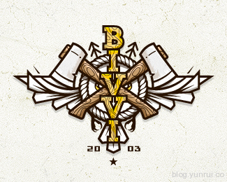 Bivvi by gajowy in 50 Logos for Inspiration