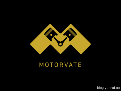 Motorvate by Paul Knight in 50 Logos for Inspiration