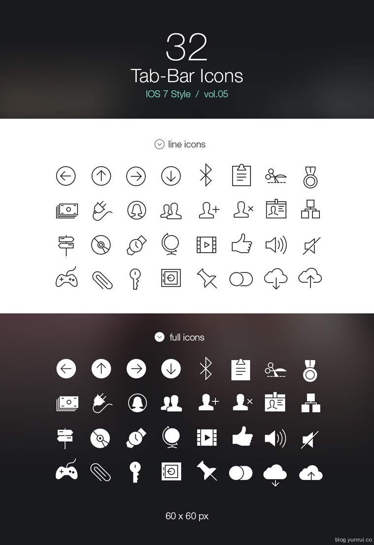 32 Free Tab Bar Icons