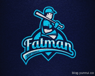 Fatman by dinoDESIGNS in 50 Logos for Inspiration