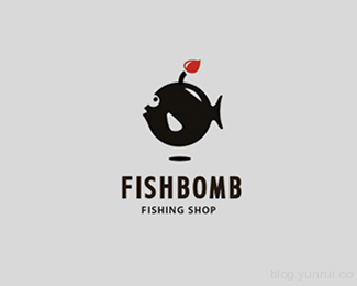 FISHBOMB by belc in 50 Logos for Inspiration