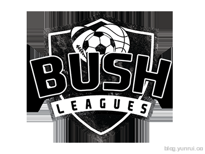 Bush Leagues Logo by Tyler Huston in 50 Logos for Inspiration