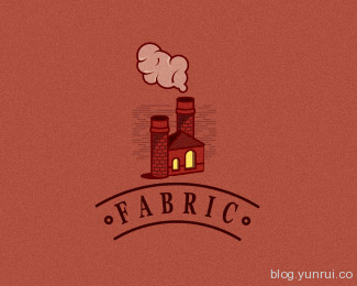 Fabric by grishabel in 50 Logos for Inspiration