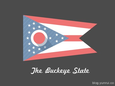 The Buckeye State by Matt Vojacek in 50 Logos for Inspiration