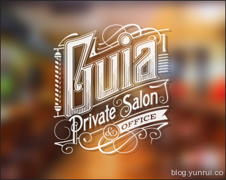 Private Salon by tomekbiernat in 50 Logos for Inspiration