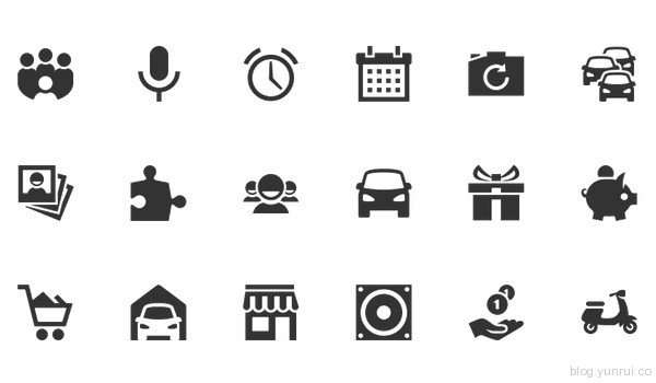 350 Free Android Icons by Ivan in 47 Fresh and Flat Icon Sets for April 2014