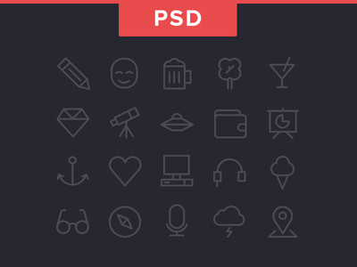 Free Icons by Chris Davis in 40+ Fresh and Flat Icon Sets for May 2014