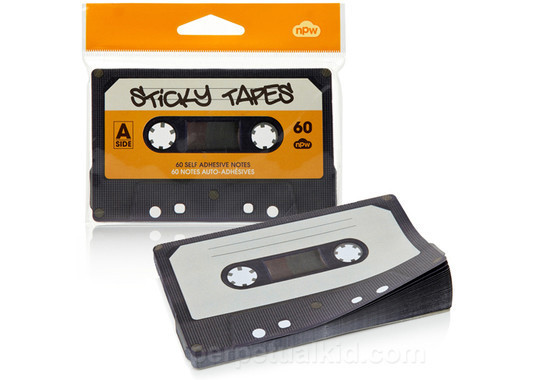 Sticky Tapes Cassette Notepad