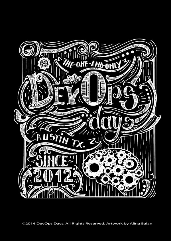 DevOps Days by alina b in Showcase of Fresh & Creative Typography Projects