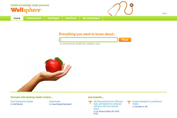 Medical Website Design - Well Sphere