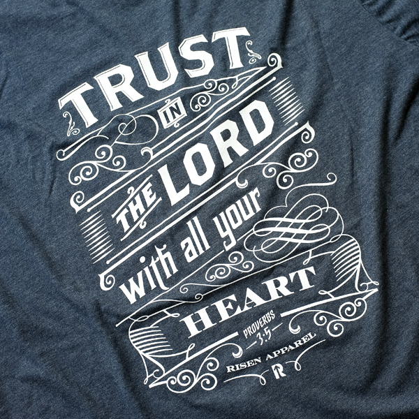 Trust in the Lord | Typography by Tomasz Biernat in Showcase of Fresh & Creative Typography Projects