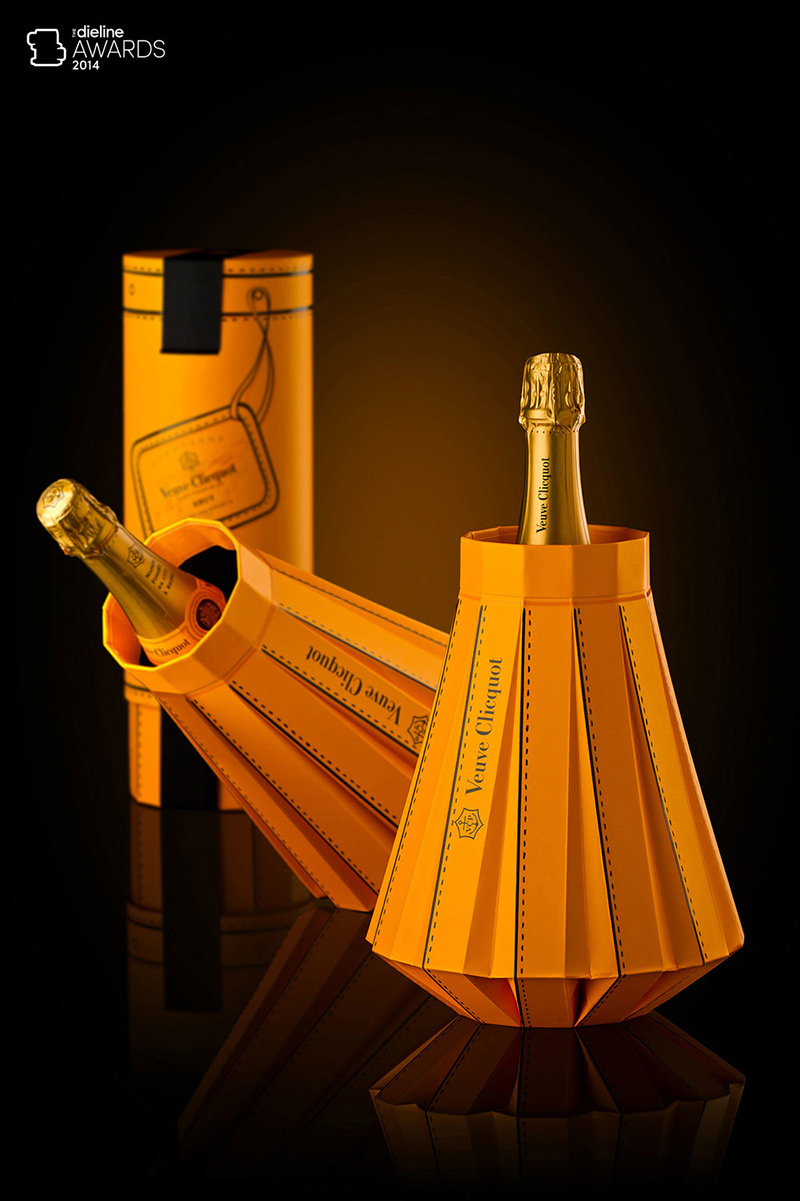 Fashionably Clicquot by R'Pure Studio in Package Design Inspiration for May 2014