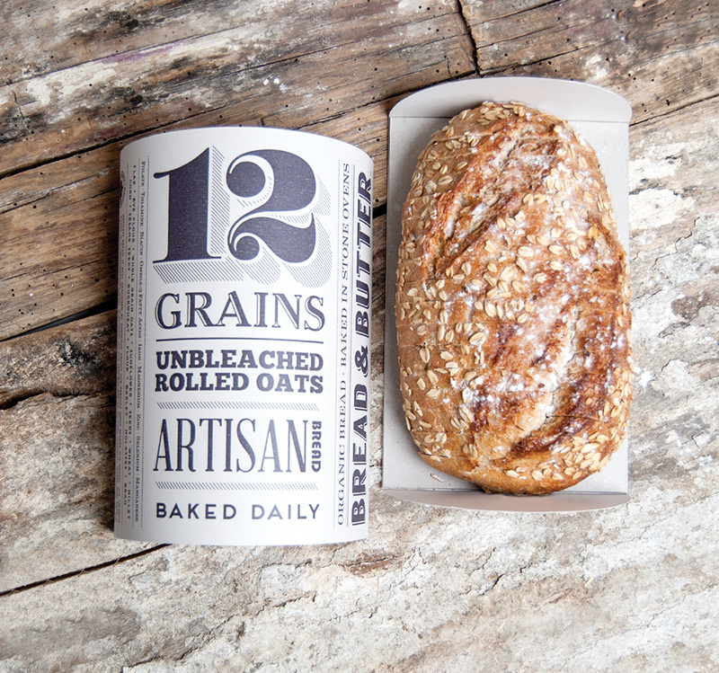 Bread & Butter in Package Design Inspiration for May 2014