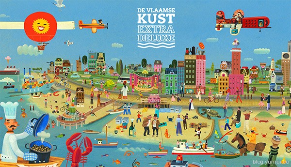 De Vlaamse Kust Extra Deluxe in Web Design Inspirational Cocktail #87
