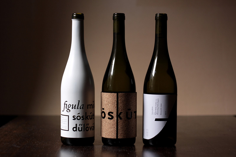 Sóskút Wine by Ágnes Rubik and Ákos Polgárdi in Package Design Inspiration for May 2014