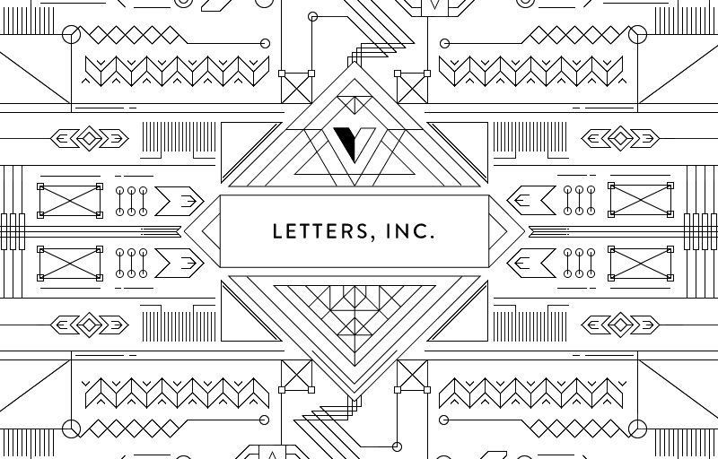 Letters Inc. in Web Design Inspirational Cocktail #89