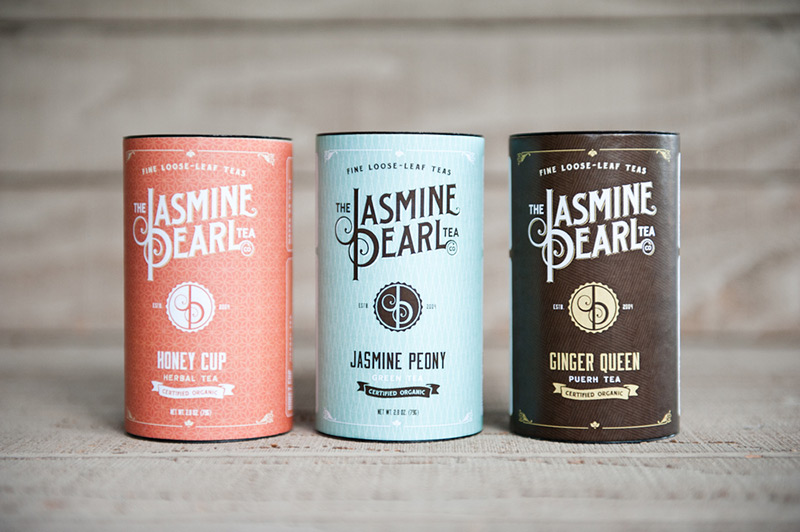 Jasmine Pearl Tea Co. by Relevant Studios in Package Design Inspiration for May 2014