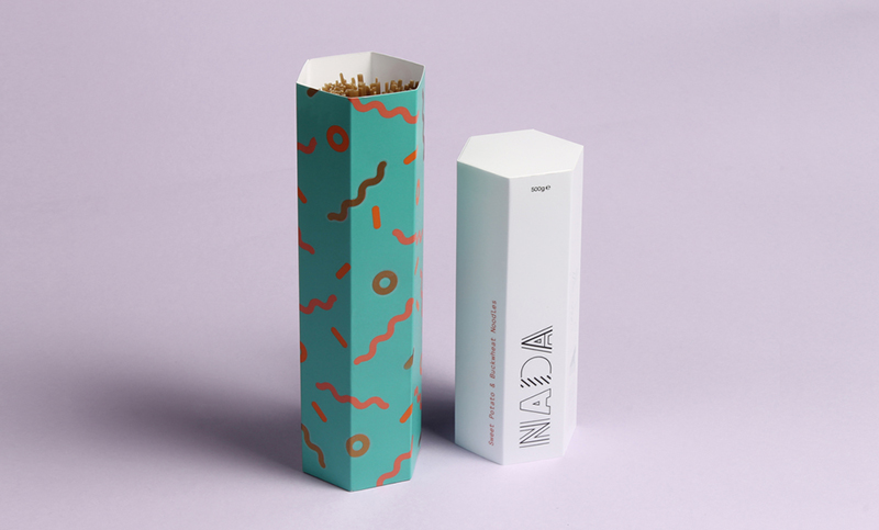 Nada by Thomas Squire and Eve Warren in Package Design Inspiration for May 2014