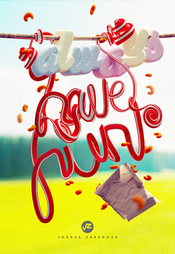 Always have fun by joshua zaragoza in Showcase of Fresh & Creative Typography Projects