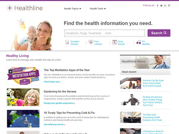 Medical Website Design - Health Line